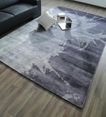 Multicolour Bamboo Silk & Cotton 118 x 78 Inch Hand Knotted Carpet
