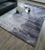Multicolour Bamboo Silk & Cotton 118 x 78 Inch Hand Knotted Carpet by Hyde Park