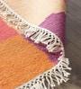 Hyde Park Multicolour Wool & Cotton Hand Woven Reversible Flat Weave Carpet