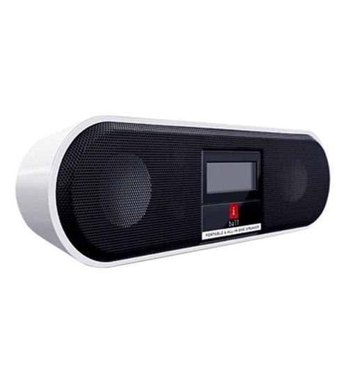 Iball Bluetooth Portable Speaker: IBall Music Boat ( Brown & White ) Portable Speaker By Iball Online