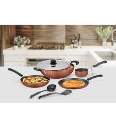 Ideale Aluminium Non Stick Cookware Set Of 7 - 1619043
