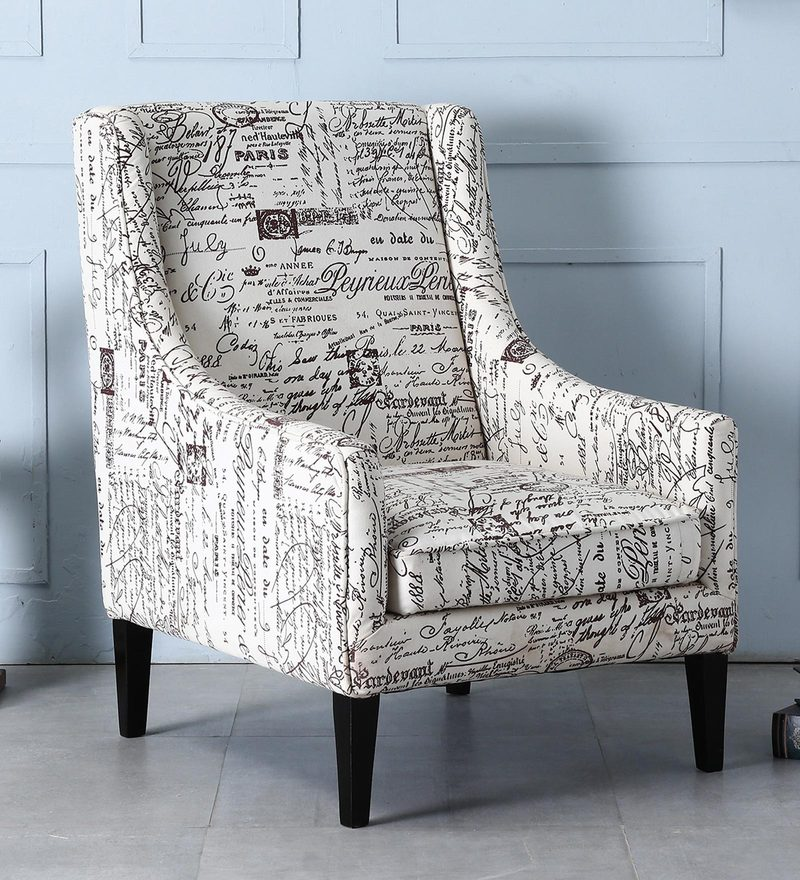 buy iggy wing chair in espresso walnut finish by bohemiana online wing chairs wing chairs pepperfry