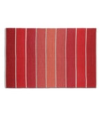 Maroon Cotton 72 x 48 Inch Rug