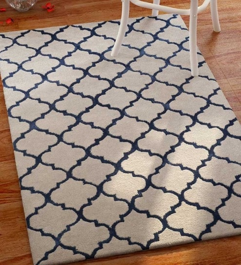 Imperial Knots Hand-Tufted Modern Moroccan Carpet