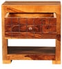 Imodium Bed Side Table in Warm Rich Finish by Inliving