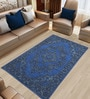 Blue Vintage Handknotted Carpet by Imperial Knots