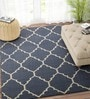 Blue Wool 96 x 60 Inch Carpet by Imperial Knots