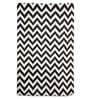Brown & Ivory Wool 48 x 72 Inch Carpet by Imperial Knots