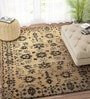 Camel Wool 96 x 60 Inch Carpet by Imperial Knots