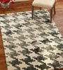 Imperial Knots Grey Ivory Loops Handtufted Carpet