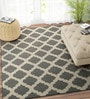 Ivory & Grey Wool 48 x 72 Inch Carpet by Imperial Knots