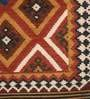 Imperial Knots Multicolour Wool 72 x 48 Inch Turkish Handwoven Kilim Are Rug