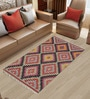 Multicolor Traditional Handwoven Flatweave Rug by Imperial Knots