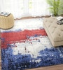 Multicolour Viscose 96 x 60 Inch Carpet by Imperial Knots