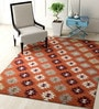 Multicolour Wool 60 x 96 Inch Carpet by Imperial Knots