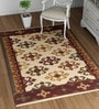 Multicolour Wool 72 x 48 Inch Ethnic Carpet by Imperial Knots