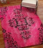 Pink Wool 108 x 72 Inch Carpet by Imperial Knots