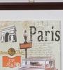 Importwala Multicolour Ceramic Paris Tile Wall Frame