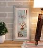 Importwala Multicolour Ceramic Parisien Tile Wall Frame