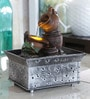 Pots & Urn Brown Polyresin Water Fountain by Importwala