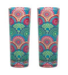 India Circus Ecliptic Lei Glass 30 ML Shot Glasses - Set Of 2