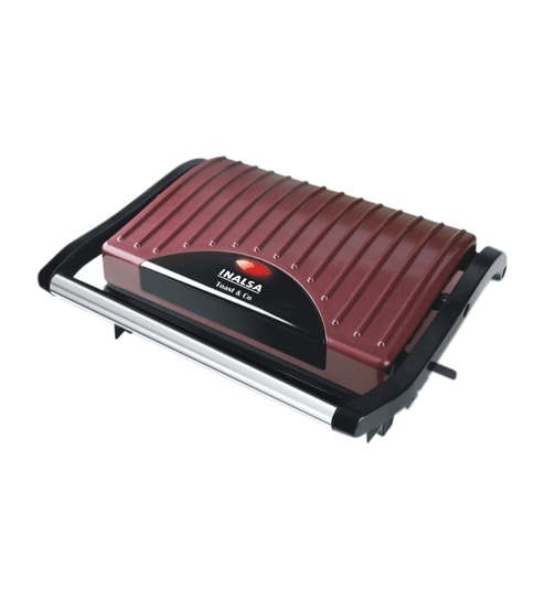 Inalsa Toast And Co 700W 4 Slice Mini Toaster Griller