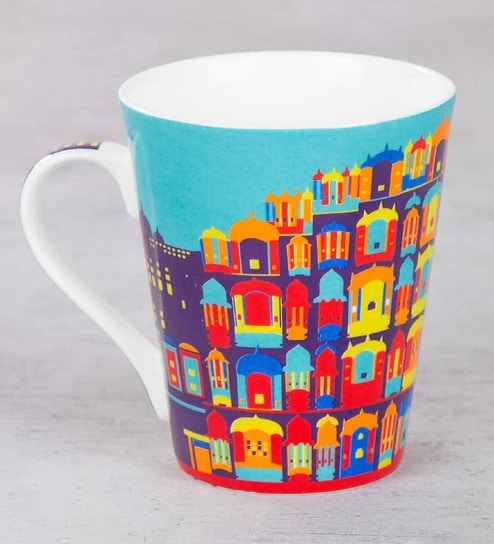 8f9bf3aad13 Buy India Circus Palatial Illusions Bone China Mug Online - Indian Ethnic -  Indian Ethnic - Dining & Bar - Pepperfry Product