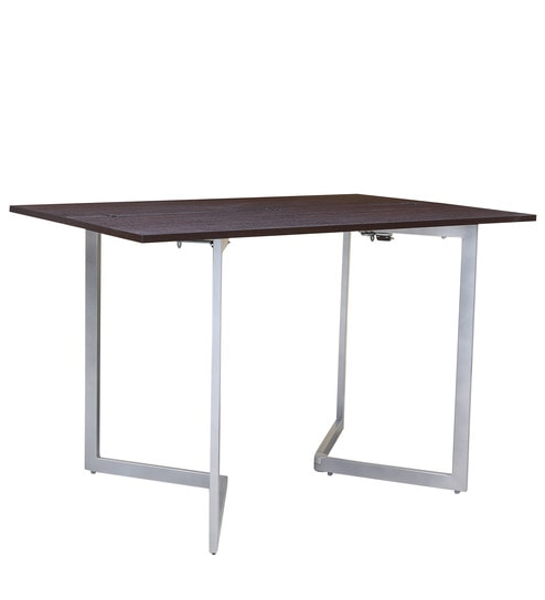 Inka Convertible Console Dining Table In Brown Colour By Gravity Online Modern Tables Furniture Pepperfry Product
