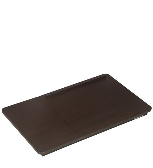 Inspiron Portable Laptop Table in Walnut Colour by Nilkamal