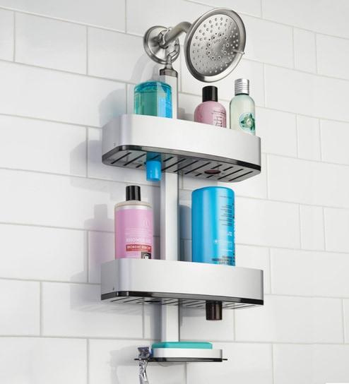 Buy Interdesign Metro Ultra Adjustable Shower Caddy Online - Soap ...