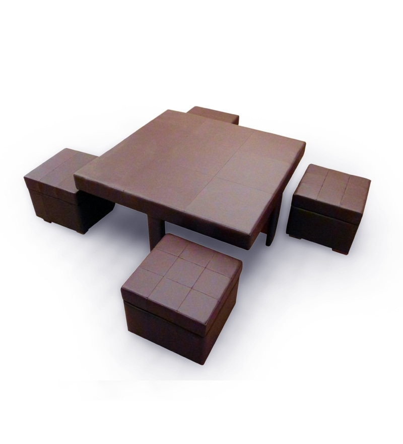 Buy Tamarind Ingenious Coffee Table With Four Storage