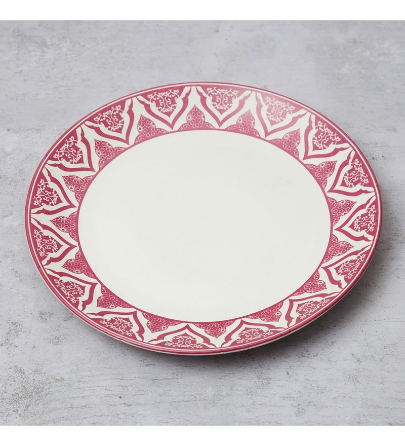 India Circus The Morning Glory Stoneware Dinner Plate