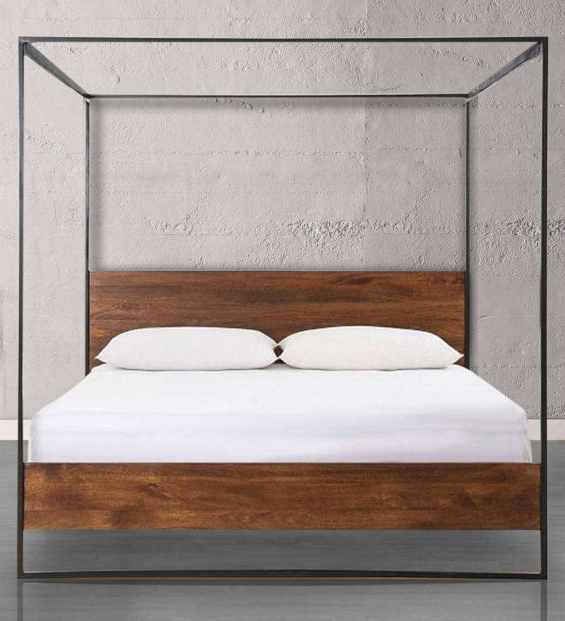 Asian poster bed king black images