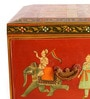 In'Design Painted Wooden Multicolour Box