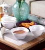 Incrizma White Melamine Bowl - Set Of 12