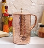 Indian Art Villa Steel & Copper 2.1 L Jug