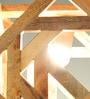 Inliving Brown Wood Cuba Pendant