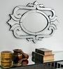 Silver Glass & MDF Designer Decorative Mirror by Venetian Design