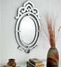 Silver Glass & MDF Decorative Mirror by Venetian Design