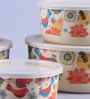 Intrendz Bageecha Cylindrical Container Set - Set of 5