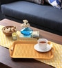 Intrendz Non-Slip Brown Aluminium Serving Tray
