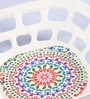 Intrendz Rangoli Bamboo & Fibre Fruit Bowl