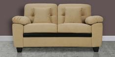 Iris Two Seater Sofa in Beige Colour