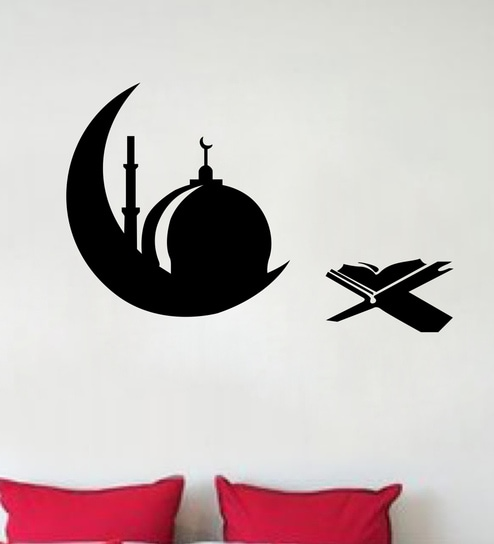 365e465f6 Buy Islamic Design Wall Sticker & Decal by StickerYard Online - Spiritual Wall  Stickers - Wall Stickers - Wall Art - Pepperfry Product