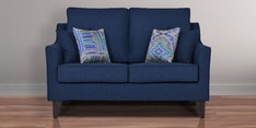 Ithaca Impulse Two Seater Sofa in Teal Blue Colour
