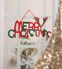 Multicolour Foam Christmas Merry Christmas Wall Hanging by Itiha