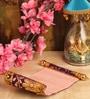 Multicolor Paper & Cloth Shagun Envelop - Set of 5 by Itiha