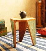 Arika Stool in Distress Finish