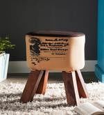 Jazmine Stool in Camel Color