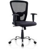 Jazz Ergonomic Chair in Black Colour